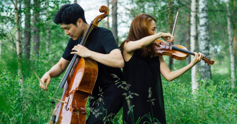Sellisti Hyoung Joon Jo ja viulisti Soo-Hyun Park esiintyvät myös Kuhmossa.