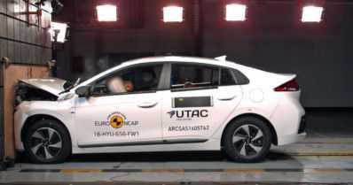 Euro NCAP julkaisi viimeisten törmäystestiensä tulokset