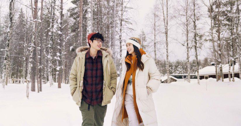 Romanttinen draama seuraa kahden työkaverin tarinaa heidän työmatkallaan Suomeen.