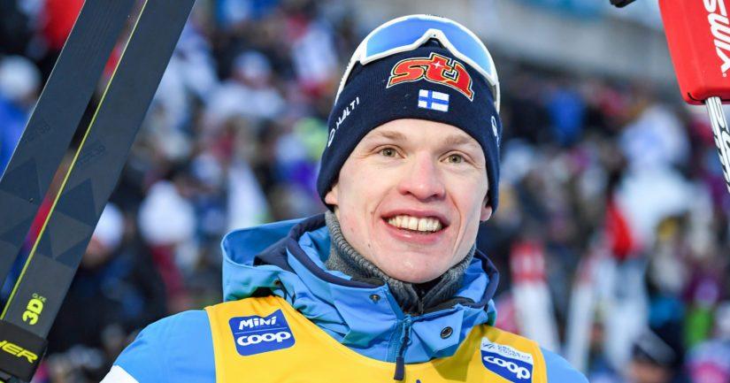 Olympiavoittaja ja maailmanmestari Iivo Niskanen on maastohiihtäjiemme terävintä kärkeä.