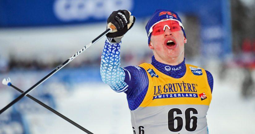 Iivo Niskanen on voittanut maastohiihdossa kaksi olympiakultaa ja yhden MM-kullan.