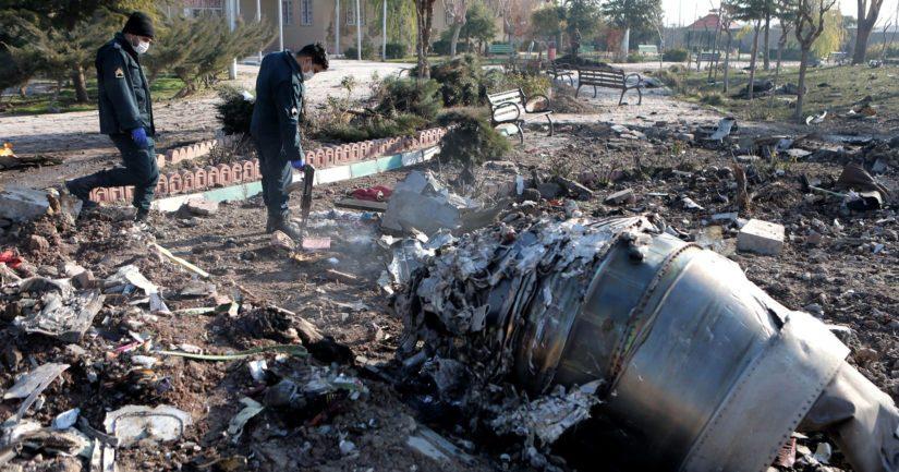 Ukrainalainen matkustajakone putosi Teheranissa pian nousun jälkeen.