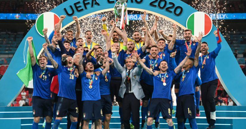 Italia voitti 2021 jalkapallon Euroopan mestaruuden (Kuva UEFA)