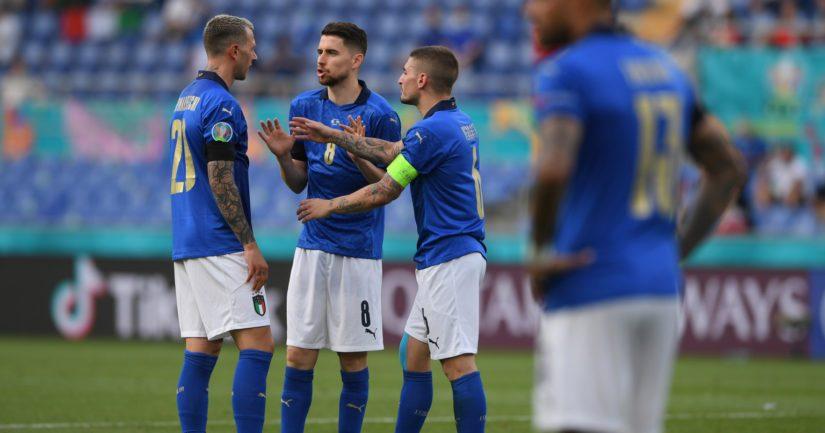 Italia voitti EM-kisojen alkulohkonsa kaikki kolme ottelua, eikä päästänyt maaliakaan (Kuva Chris Ricco / UEFA)
