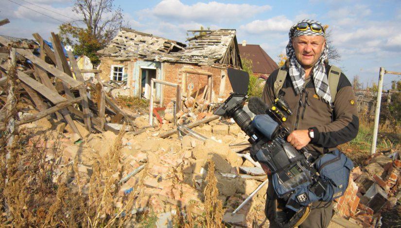 Aamulla kuvattavana Suomessa, illalla kuvaajana Ukrainassa. Ivar Heinmaa ei ole edes ajatellut jäävänsä joskus eläkkeelle.