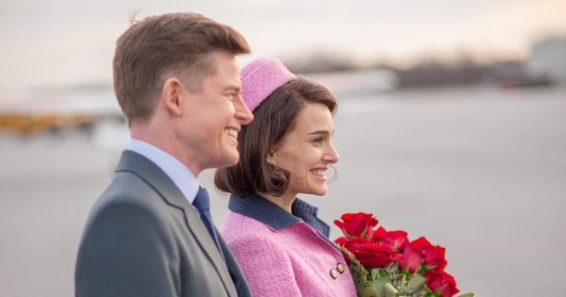 Yksi harvoista kohtauksista, joissa Caspar Phillipsonin esittämä JFK on läsnä. (Kuva Filmikamari)