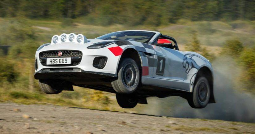 Jaguar päätti kehittää täysin toisenlaisen ralliauton lähinnä näytösmielessä.