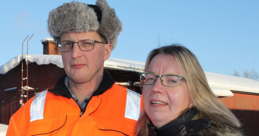 Janne ja Anu ovat rakentaneet lypsykarjatilastaan kahden ihmisen työpaikan, jossa toimintaa viedään eteenpäin bisnesmäisellä ajattelumallilla.