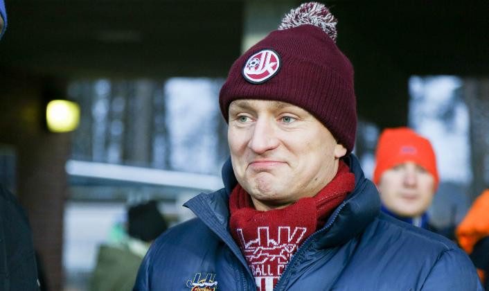 Janne Mönkkönen on aiemmin työskennellyt mm. JYP:n turvallisuuspäällikkönä. (Kuva Jussi Reinilä)