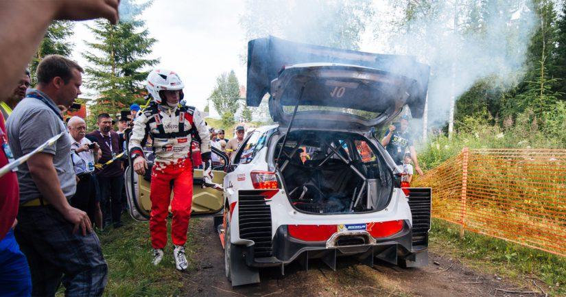 Jari-Matti Latvala kilpaili Toyotalla 2017-19. Vuosiin mahtui paljon vastoinkäymisiä