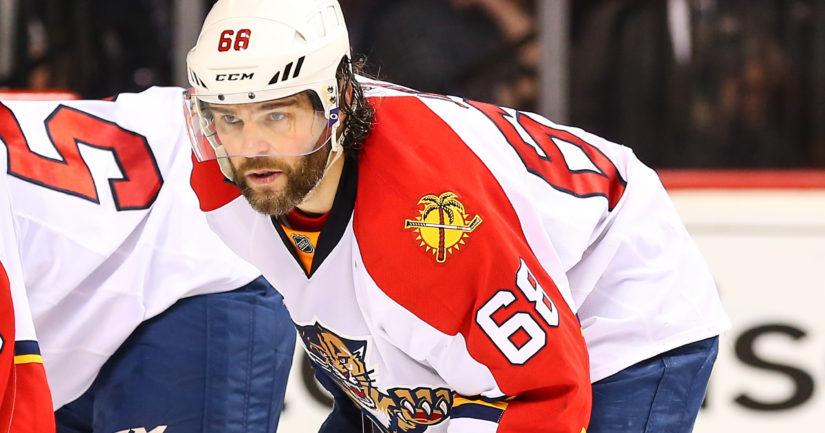 Nyt 45-vuotiaalla Jaromir Jagrilla on takana 23 kautta NHL-kaukaloissa.