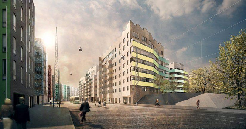 Helsingin Jätkäsaaren moderniin Airut-kortteliin valmistui vuoden vaihteessa 63 kaupallista Lumo-asuntoa, kaikki asunnot on jo vuokrattu.