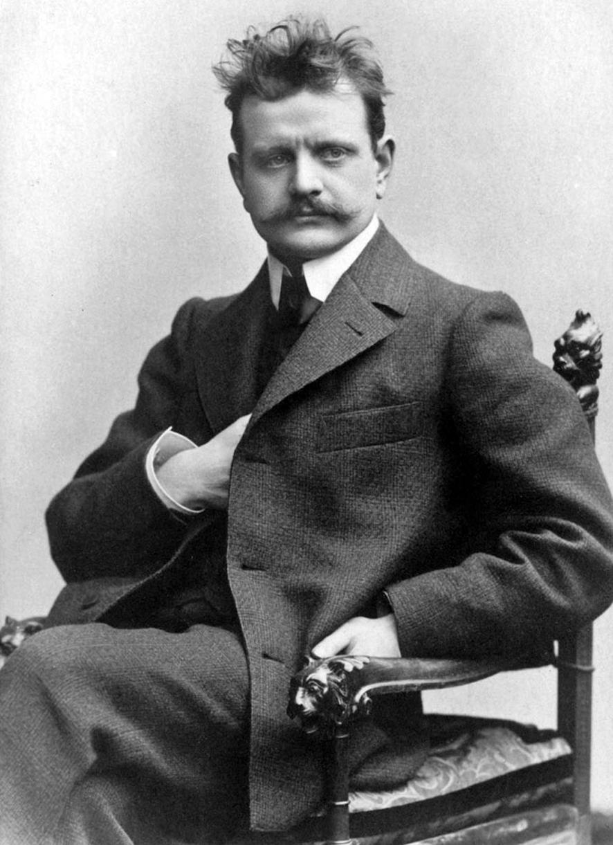 Jean Sibelius vuonna 1890