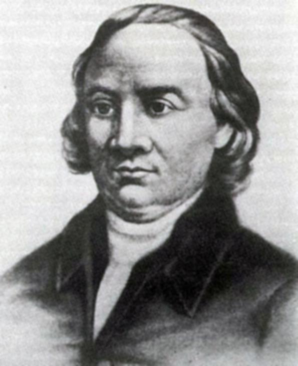 """John Morton on Johann """"Juho"""" Marttinen. Hänen isoisänsä Martti Marttinen oli saapunut Amerikkaan vuonna 1654 ja pojanpoika syntyi vuonna 1724."""