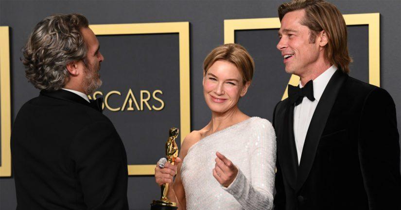 Tähtinäyttelijät Joaquin Phoenix, Renée Zellweger ja Brad Pitt ovat uusimmat Oscar-voittajat.