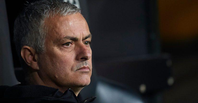 Jose Mourinho valmensi La Ligan jättiseuraa Real Madridiavuosina 2010–2013.