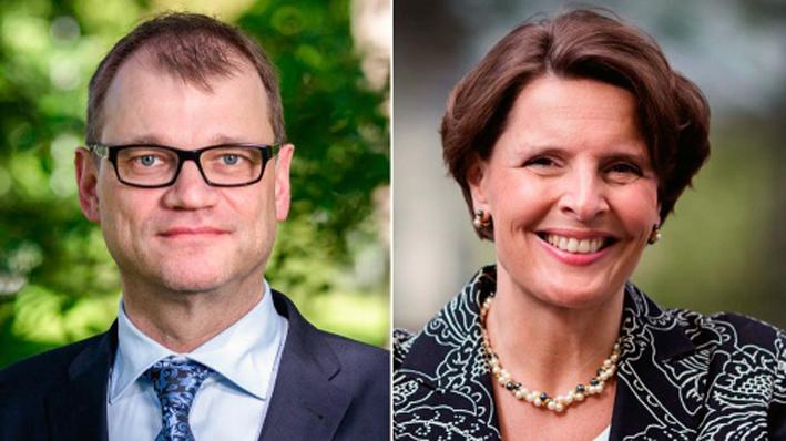 Pääministeri Juha Sipilä ja liikenneministeri Anne Berner ovat olleet viime aikoina kovan arvestelun kohteena.