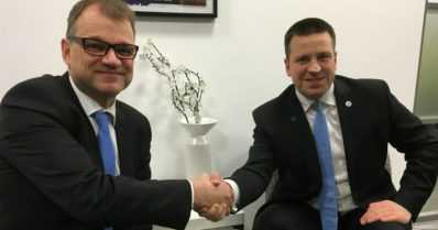 """Suomi ja Viro keskustelevat digitaalisista yhteyksistä ja tunnelista – """"Meillä on mahdollisuus mennä nopeasti eteenpäin"""""""