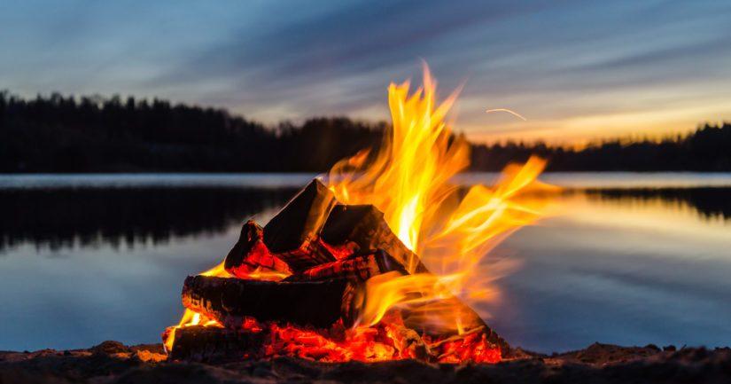 Avotulen teko on kielletty metsäpalovaroituksen ollessa voimassa.