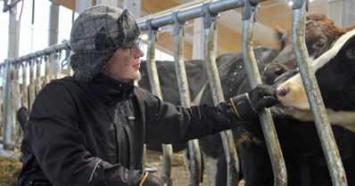 """Teknologia tuo nuorille maatalousyrittäjille mukavaa väljyyttä – """"Tavoittelemme maitoa, joka on täyttä tavaraa"""""""