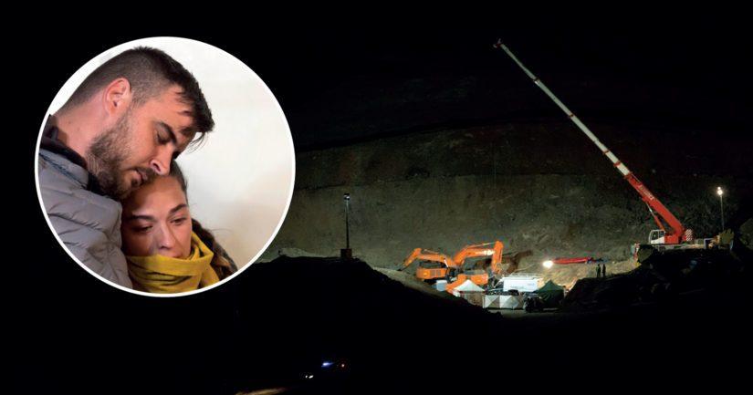 Julenin vanhemmat Jose Rosello ja Vicky Garcia toivoivat loppuun asti pojan löytyvän elossa.