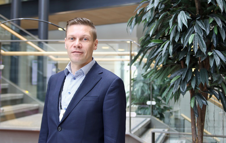 Vankiterveydenhuollon johtajana huhtikuun alussa aloittanut Jussi Korkeamäki.