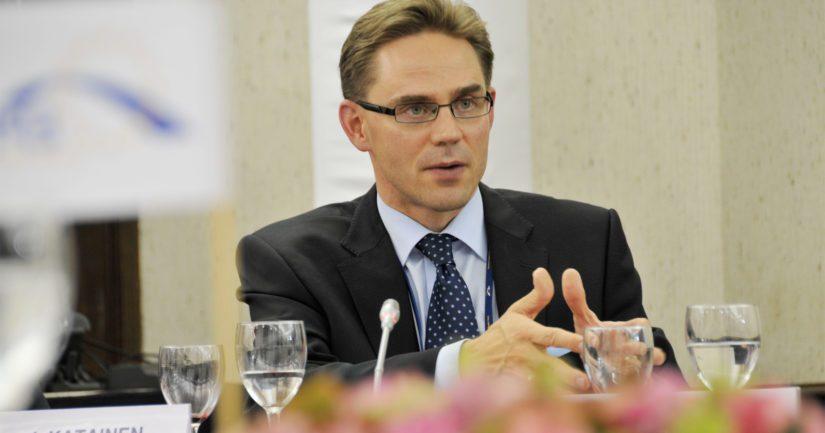 Entinen pääministeri Jyrki Katainen on toiminut vuodesta 2014 Euroopan komission varapuheenjohtajana.