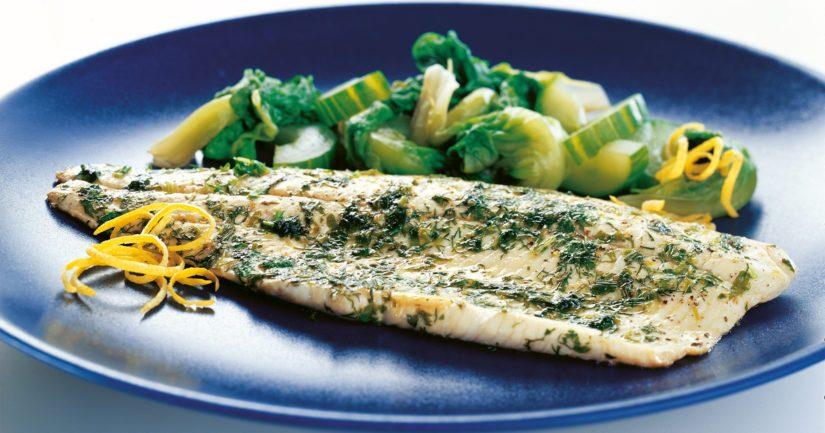 Tarjoa kalafileiden lisäkkeeksi sinihomejuustolla maustettua fenkolia tai höyrytettyä salaattia ja kurkkua.
