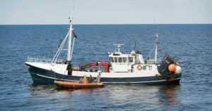 Lohenkalastus tehovalvonnassa merellä – kiellettyjä ja tunnistamattomia verkkoja hävitettiin