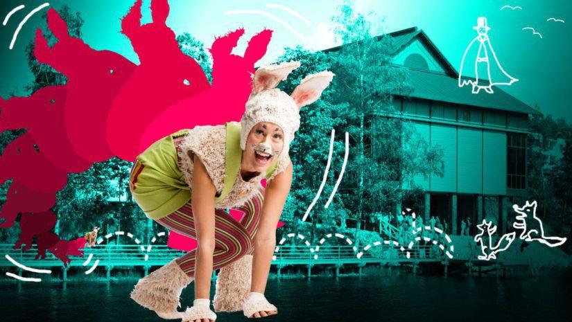 Kani Koipeliinin kuperkeikat tarjoaa monelle ensimmäisen kohtaamisen oopperan kanssa. (Kuva Tatu Vihavainen)