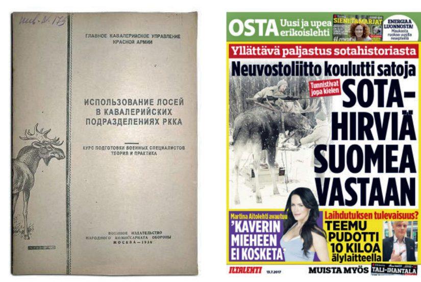 Aprillipila alkoi kuvamanipuloidulla kansilehdellä puna-armeijan hirviohjesäännöstä, tarina päätyi lopulta iltapäivälehden kanteen ja myyntilööppiin.