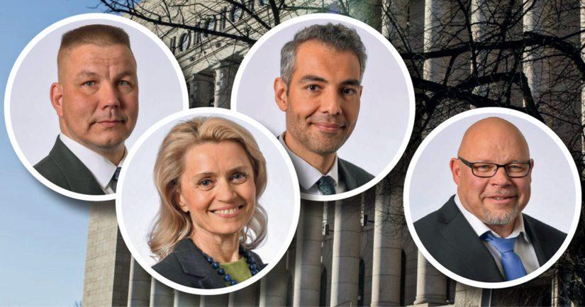 Juha Mäenpään, Päivi Räsäsen ja Hussein al-Taeen esitutkinnat jatkuvat, Ano Turtiainen vapautettiin rikosepäilyistä.