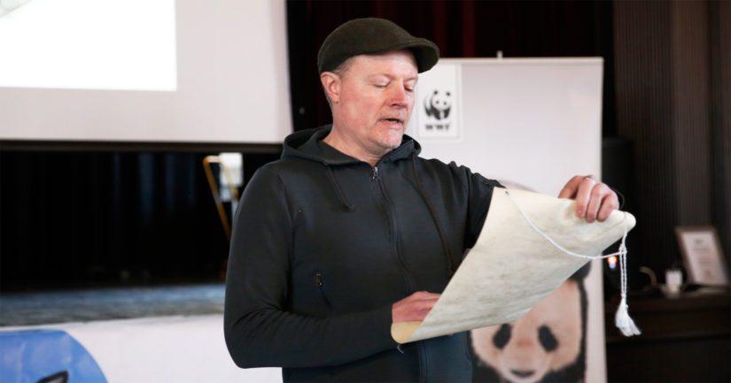 Saimaannorpan pesärauhan julistanut Kari Hietalahti on kotoisin Saimaan rannoilta.