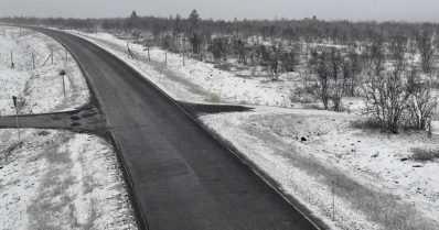 Pohjoisimpaan Lappiin satoi jo ensilumi – lisää räntä- ja lumisadetta on odotettavissa