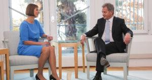 Viron presidentti haluaa junan Helsingistä Tallinnaan – ja Varsovaan asti
