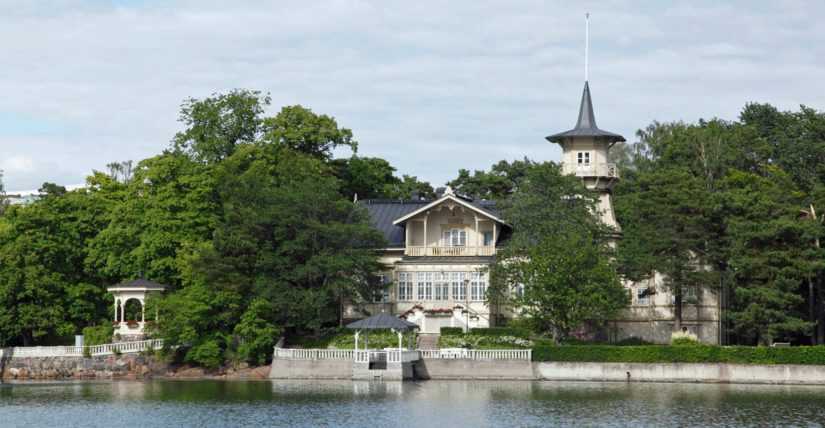 Valtio hankki Kesärannan venäläisten kenraalikuvernöörien kesäasunnoksi vuonna 1904.