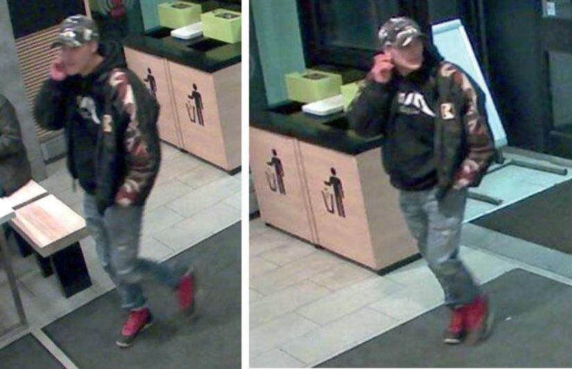 Poliisit eivät ole tunnistaneet kuvissa näkyvää miestä ja siksi poliisi pyytää yleisöltä vihjeitä.