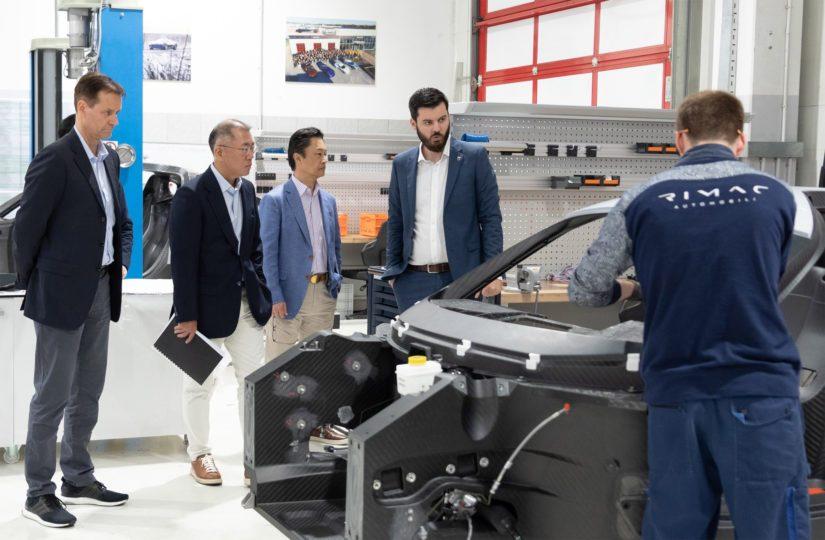 Kian ja Rimacin yhteistyön tarkoituksena on vahvistaa konsernin osaamista tehokkaiden sähköautojen valmistajana.