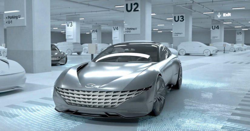 Järjestelmän kokonaisprosessi toteutetaan ajoneuvon, pysäköintilaitoksen, latausaseman ja kuljettajan älypuhelimen välisellä viestinnällä.