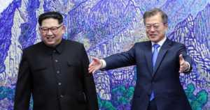 """""""Toivottavasti ohjuskokeemme eivät valvottaneet"""" – Pohjois- ja Etelä-Korean johtajat huippukokouksessa"""