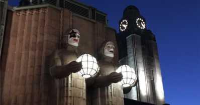 Kivimiehet saivat Kiss-naamiot – Helsinki on yksi heavy metal -pääkaupungeista