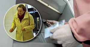 Tunnistatko rikoksista epäillyn naisen – teki 90-vuotiaan miehen kortilla ostoja ja nostoja yli 20 000 eurolla