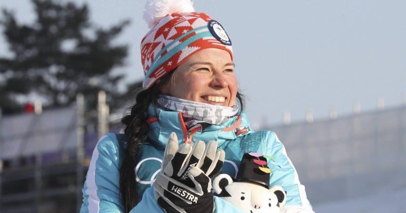 Suuren apurahan saajista Krista Pärmäkoski menestyi erinomaisesti talviolympialaisissa.
