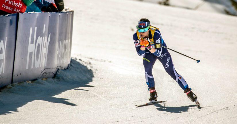 Krista Pärmäkosken mitali MM-kisoissa jäi harmittavasti 1,4 sekunnin päähän.