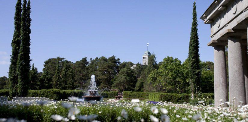 Kultarannan tilan pinta-ala on 54 hehtaaria ja siihen kuuluu lukuisia rakennuksia, kasvihuoneita sekä suuret hoidetut puistoalueet.