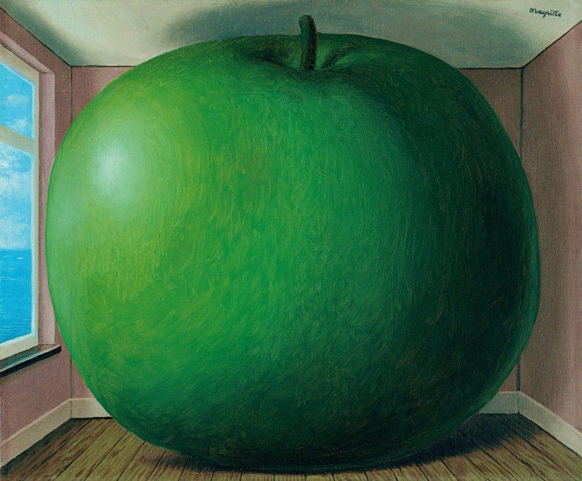 Kuunteluhuone (1958), Magrittén pyrkimyksenä oli tuoda esille maailman mysteeri tuiki tavallisten asioiden kautta.