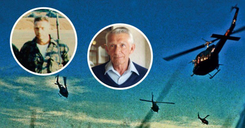 Vietnamin sodan salaiseen helikopterioperaatioon vuonna 1965 osallistuivat Lauri Törni alias Larry Thorne sekä hänen amerikkalainen asetoverinsa Charles Petry.