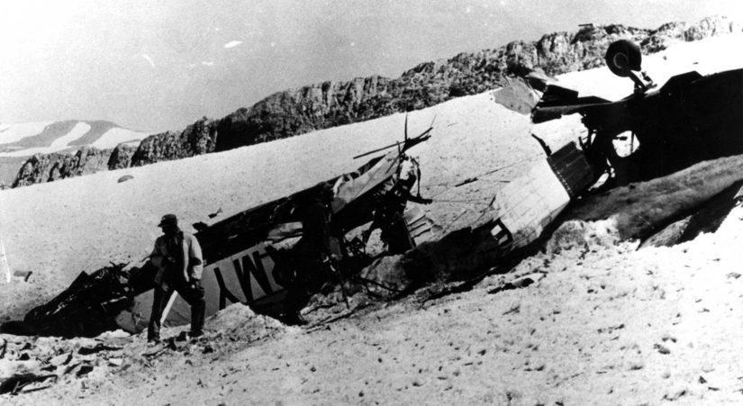Kun tarpeelliset laitteet oli poistettu pudonneesta lentokoneesta, se räjäytettiin.