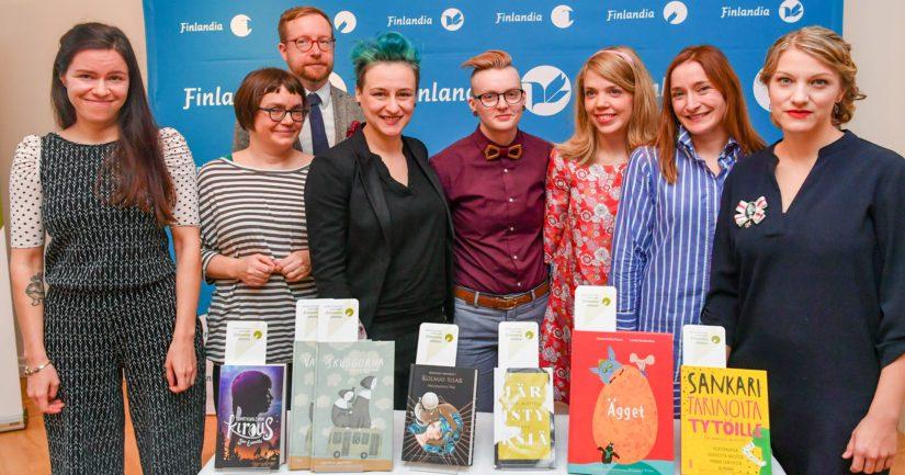 Kuusi ehdokaskirjaa kisaa Lasten- ja nuortenkirjallisuuden Finlandia-palkinnosta.
