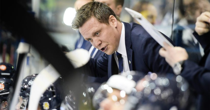 Lauri Marjamäellä riittää pohdittavaa, kuinka saisi lisäenergiaa Leijonamiehistöön MM-kisoissa.